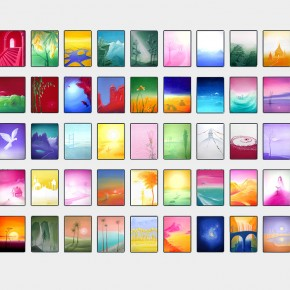 Celý cyklus - Krajiny barev105
