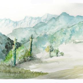 Pannone pohled do údolí II