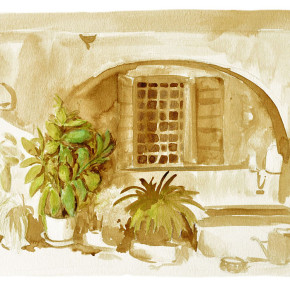 San Felice sedlákův dvorek
