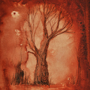 Strom a těhotná žena