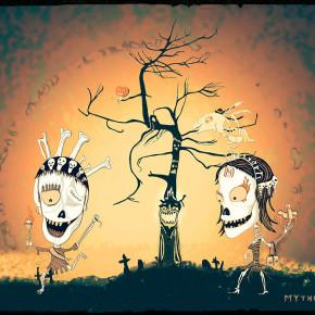 Halloween u manželů Smrťáčkových
