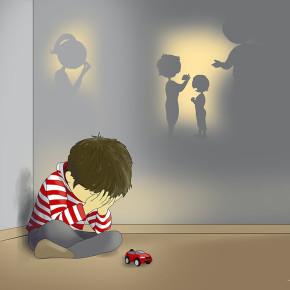 Chlapeček pláče