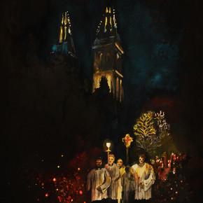 Dušičky na Vyšehradském hřbitově