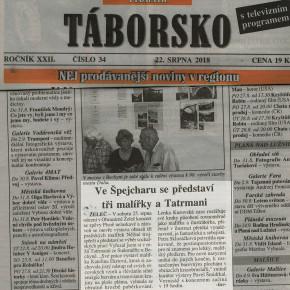 Info v regionálním tisku