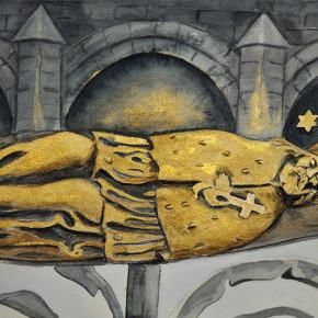 Svatý Jan Nepomucký z Karlova mostu