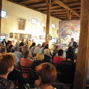 Uvedení výstavy kurátorem Pavlem Šmidrkalem