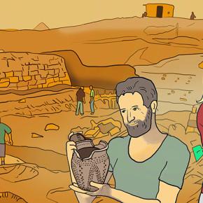 Archeologové v krajině