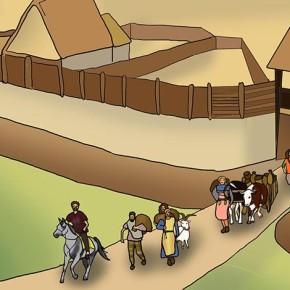 Cestou z hradiště
