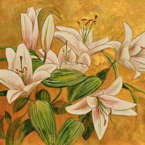 Lilie ve zlatě II