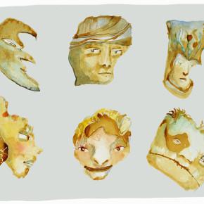 Tváře špičaté skály - Rusalčin měsíc, bratr Bolehlavský Jindřich, Mořský poník, Uno Azteco, Paramáti Numbit, pan Mechcte
