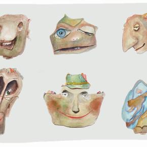 Tváře špičaté skály - Kostěj Skalistý, Mr. Hotovson, Indiana Bignose, Čtečka, Návštěva z Rakous, Šklebe Skalistá
