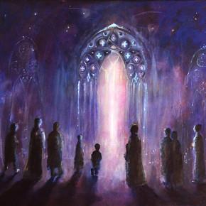 Kyrie vstup do chrámu