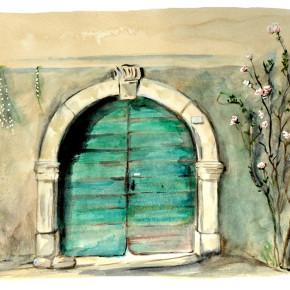 Tajuplné dveře v Pannone