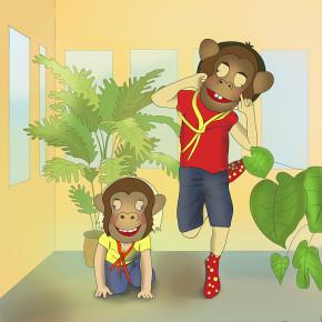 Kluci opičáci